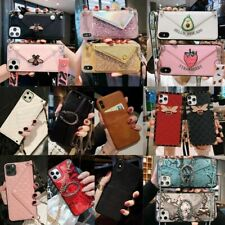 For iPhone 11 Pro Max X XR XS 8 7 6 Fashion Card Package Phone Case Girsl Cover