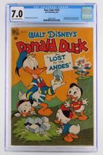 Four Color #223 - CGC 7.0 FN/VF -Dell 1949- Donald Duck, Huey, Dewey & Louie!!!
