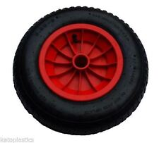 "14"" REPLACEMENT PUNCTURE PROOF WHEELBARROW WHEEL CHOOSE BORE SIZE 3.50/4.00-8"