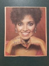 Suzette Charles-signed photo-newspaper clipping - COA