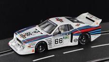 Sideways Lancia Beta Montecarlo Gr.5 Le Mans 24hrs 1981 No. 66 M1:32 neu