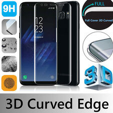 FOR SAMSUNG GALAXY S8 FULL COVER CURVED GORILLA TEMPERED GLASS SCREEN PROTECTOR