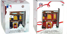 Firehouse Forever Collectibles Tampa Bay Buccaneers Rays Christmas Village