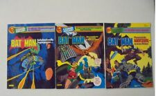 3x Batman EDIZIONE SPECIALE 1-3 Ehapa Verlag stato 2-3