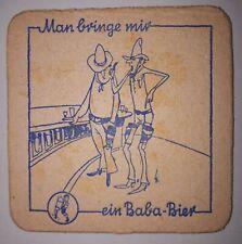 ANCIEN SOUS BOCK - BIERDECKEL - BABA BIER - #1