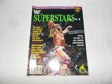WWE Wrestling Magazine WWF Superstars VII 7 The Ultimate Warrior UK 1992
