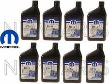 NEW ATF+4 Automatic Transmission Fluids Synthetic 8 Quarts OEM Mopar 68218057AB