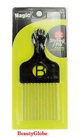 Magic High Quality Hair Pick Afro Pick Styling Pik Metal Pik Item: 2410