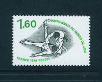 FRANCIA/FRANCE 1979 MNH SC.1681 Judo Championship