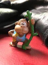 "Vintage Donkey Kong Jr. Figure 1982 PVC Nintendo Coleco Character Toy Rare 2"""