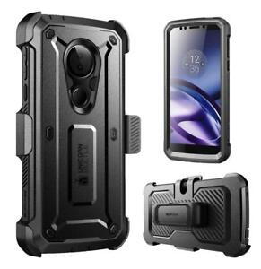 SUPCASE For Motorola Moto G6 Play Full-Body Rugged Cover Case w/Screen Protector