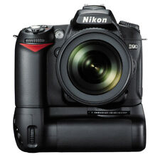 Nikon D90 12.3MP Digital SLR Camera w/ Nikkor 18-200mm f/3.5-5.6G + Battery Grip