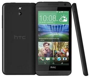 NEW HTC DESIRE BLACK 610 8GB 4G LTE GENUINE ANDROID UNLOCKED SMARTPHONE UK