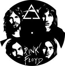 DXF CDR  File For CNC Plasma Laser Cut - Pink Floyd Clock - Ready to Cut