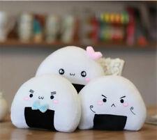Kawaii Japanese Sushi Dumpling Rice Ball Cute Stuffed Plush Cushion Pillow Toy