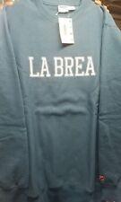 undefeated la brea sweater blue large undftd