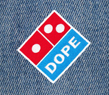 Cool Hip Hop DJ Shirt Patch Badge 7cm Surfer Rock