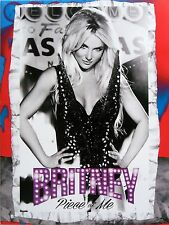 BRITNEY SPEARS * PIECE OF ME CONCERT POSTERGRAM * HTF! * PLANET HOLLYWOOD
