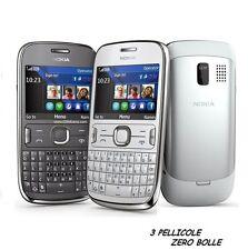 3 Pellicola per Nokia Asha 302 Protettiva Pellicole SCHERMO DISPLAY LCD ASHA