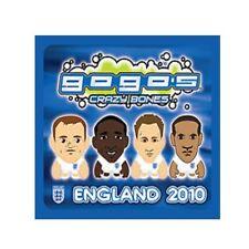 CRAZY BONES ENGLAND 2010 - 5 SINGLE PACKS - NEW