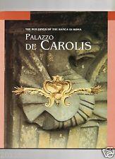 palazzo de carolis roma de carolis the buildings de carolis 71 pagine anno 1994