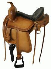 "16"" Gaited Western Pleasure Show Trail Tooled Leather Saddle GoRgEoUs!!!"