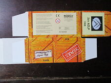 BOITE VIDE NOREV  CITROEN 2CV AZPL 1958 EMPTY BOX CAJA VACCIA
