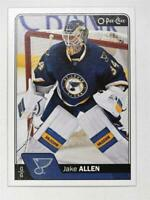 2016-17 O-Pee-Chee #47 Jake Allen - NM-MT