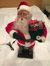 Holiday Creations Vintage Animated Santa with Gifts Motion-ette