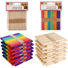 Holz Eisstiele Holzstiele Wooden...