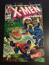 X-men Classics#3 Awesome Condition 8.0(1984) Wrap Around Cover!!