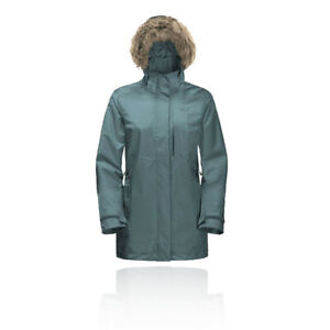Jack Wolfskin Womens 3-in-1 Arctic Ocean Jacket Top Blue Sports Outdoors