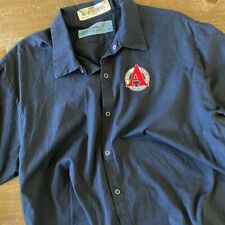 Vintage Men's Work Shirt Size Xl with Avery Brewing Co Embroidered Patch