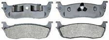 ACDelco 14D711M Rear Semi Metallic Brake Pads