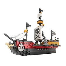 Rikuzo Pirate Ship Model Building Block Set 780pcs - Nano Micro Blocks Diamond