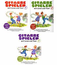 Gitarre spielen mit Lena und Tom - mit CD - Kinder-Gitarrenschule in 3 Bänden