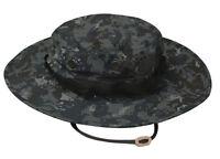 TRU-SPEC 3213 Midnight Digital Boonie Hat Wide Brim Camo - Poly Cotton Ripstop