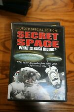 SECRET SPACE: WHAT IS NASA HIDING? - 2-DISC SET - WATCHED ONCE!