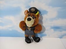 "Harley Davidson Plush Mini Bear 11"" Biker Chick Girl Motorcycle Great Condition"