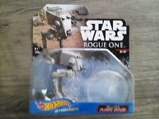 Disney Hot Wheels Star Wars Rogue One AT-ST W/ Stand