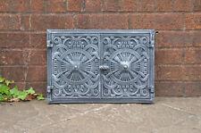 45 x 31.5 cm cast iron fire door clay  bread oven doors pizza stove fireplace