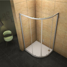 900x1000mm Offset Right Quadrant Shower Enclosure Corner Glass Door Tray Waste