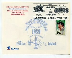 1989 World Series - Game 3 - Earthquake Series - October 27 - game delayed