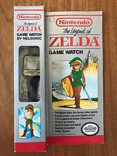 Legend Of Zelda Game Watch Nelsonic Nintendo 1989 - New & Complete in Box CIB
