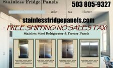 Sub-Zero Stainless Steel Panels models 661-561 $450 FREE SHIPPING!