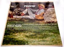 Merle Travis  Travis  1962  Decca DL74698  Country 33 rpm  Vinyl LP  Strong VG+
