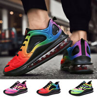 Men's Personality Air Cushion  Athletic Sneakers Casual Sports Running Shoes Gym