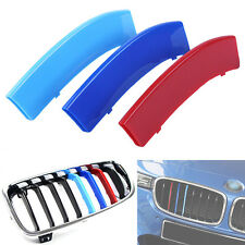 3Pcs Car Front Grill Buckle Cover Decoration Strips For BMW X5 14-16 ,X6 15-16