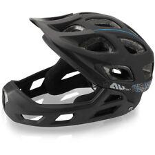 XLC All MTN Full Face Fahrradhelm BH-F05 Gr.S/M 52-56cm schwarz ca. 518g Fahrrad