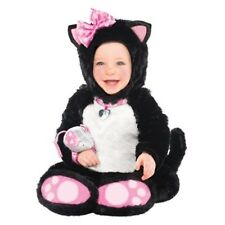 Itty Bitty Kitty Infant 0-6 Months Costume with Mouse Rattle